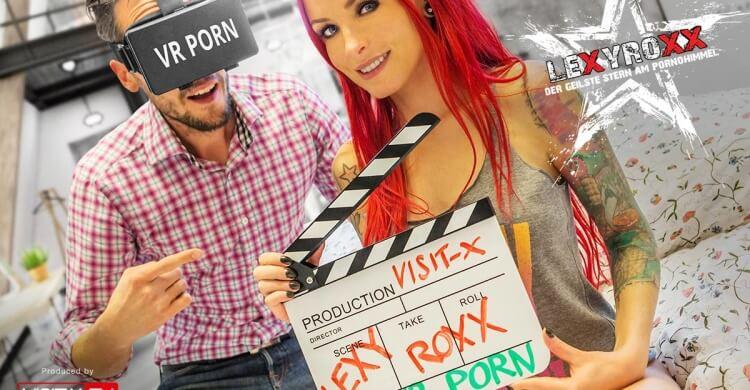 Lexy Roxx präsentiert Deutschlands ersten Virtual Reality Porno